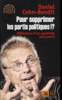 couverture Pour Supprimer Les Partis Politiques !?
