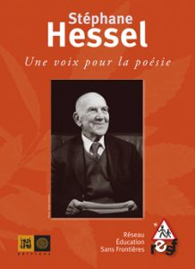 Couverture Stéphane Hessel : Une voix pour la poésie