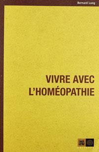 couverture Vivre avec l'homéopathie