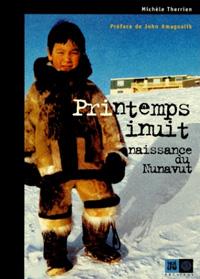 couverture Printemps inuit, naissance du Nunavut