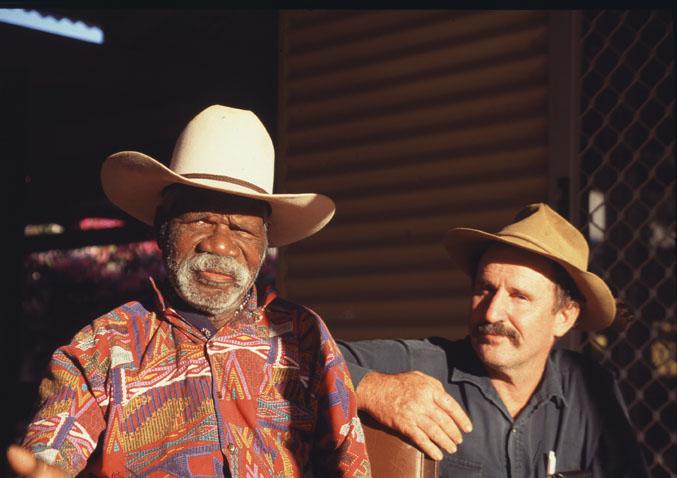 aborigène et fermier australie