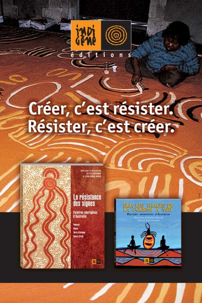 Couverture créer resister-indigenes-editions