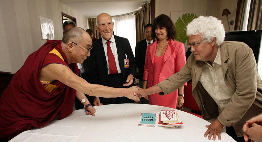 rencontre Dalai Lama Stéphane Hessel