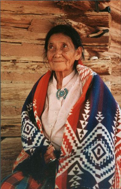 Madame Stevens femme médecine navajo